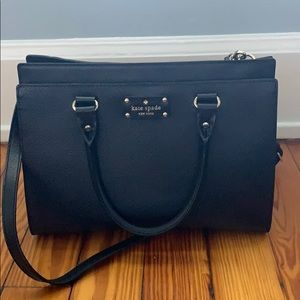 Kate Spade Black Wellesley Durham Purse